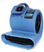 Flooded Basement drying air mover Troy MI