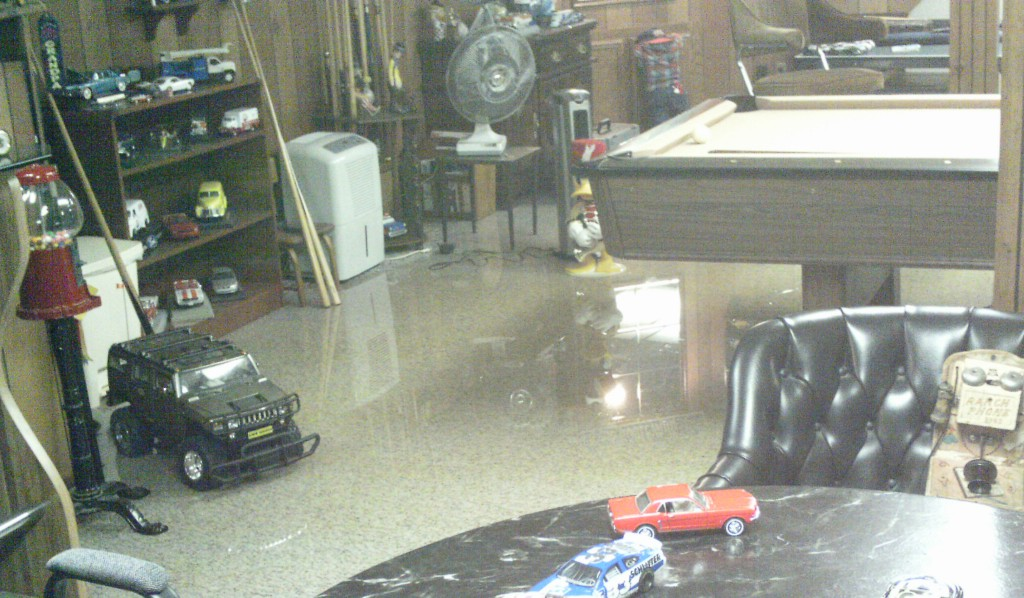 Flooded-Basement-Fraser-MI