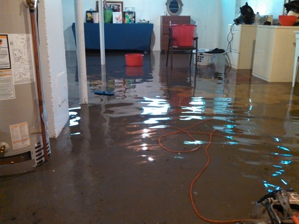 Flooded-Rochester-Hills-MI-House