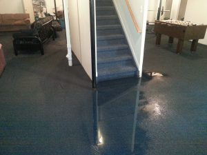 How to cleanup after a basement flood