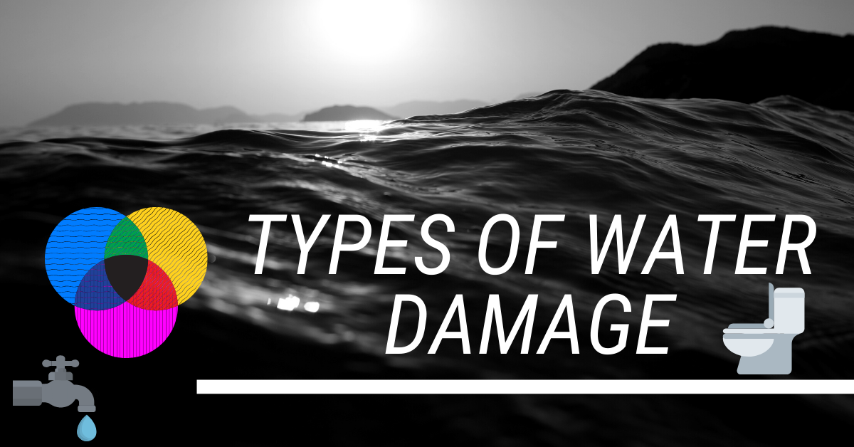 types of water damage