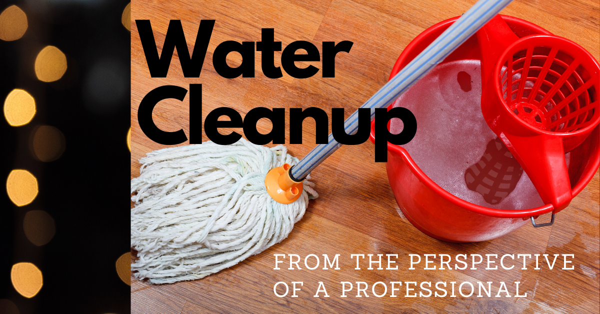 Steps to choose the best Water Cleanup company
