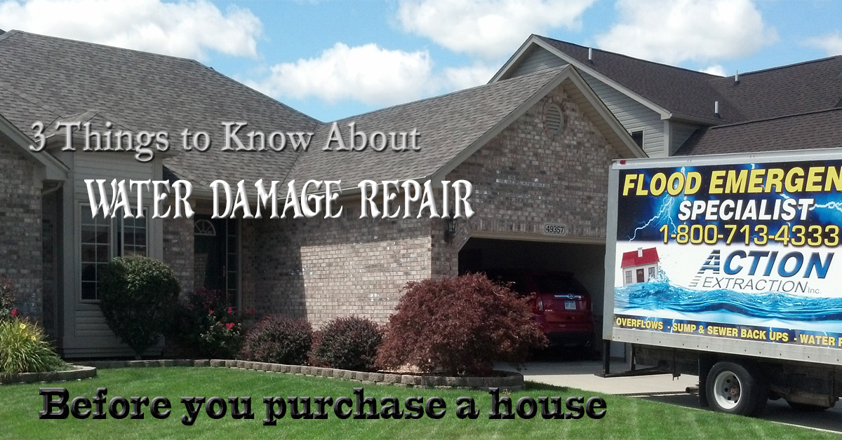 3 Things About Water Damage Repair