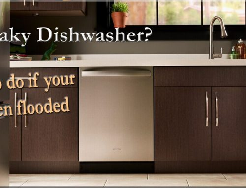 My Dishwasher Flooded the Kitchen